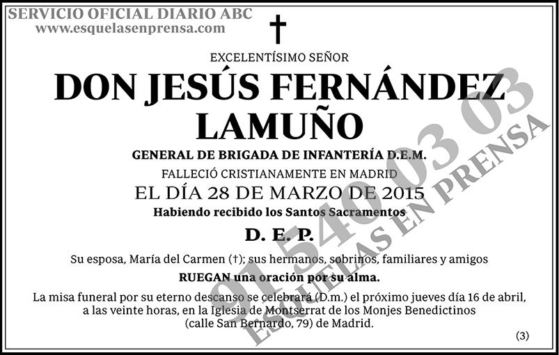 Jesús Fernández Lamuño